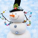 История новогоднего снеговика
